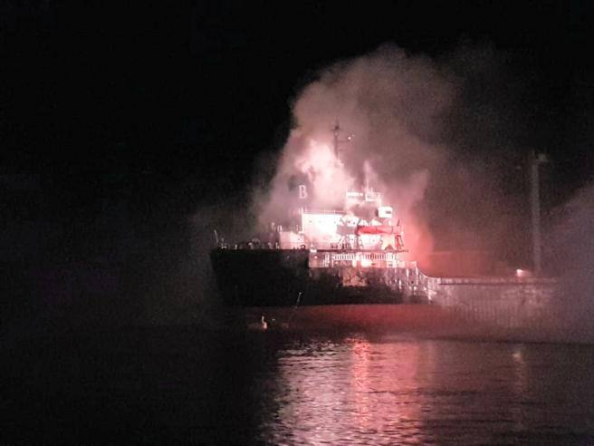 Incidente di trasporto su nave mercantile